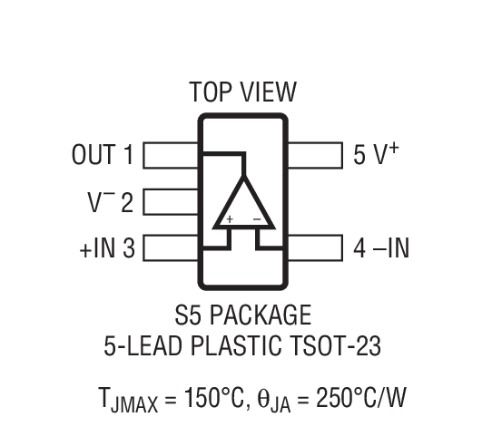 LT1397 Package Drawing