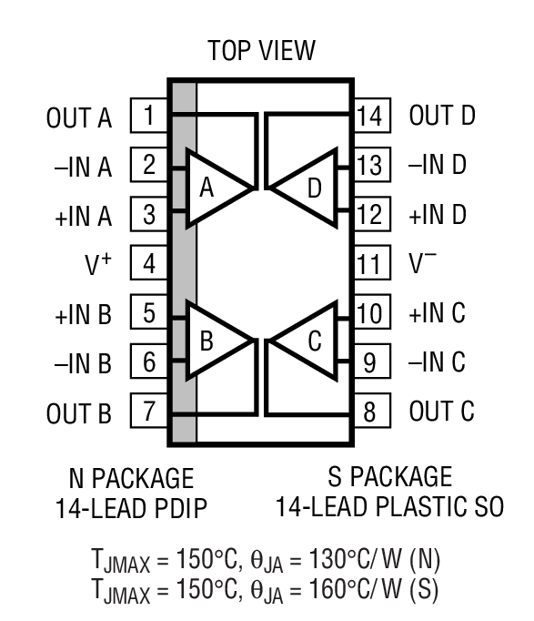 LT1495 Package Drawing