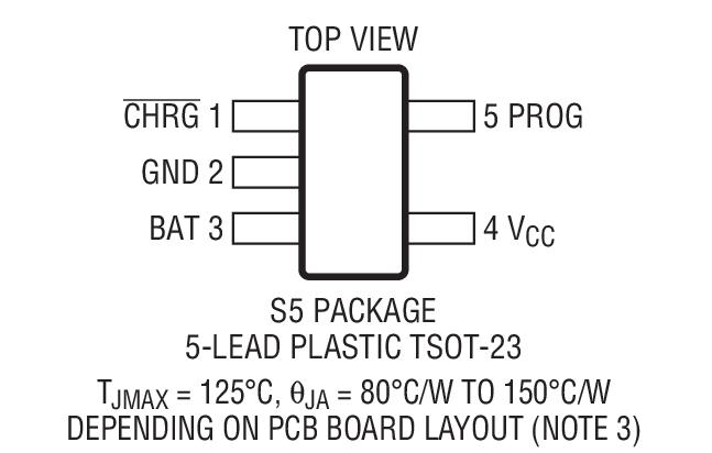 凌力尔特 电源管理 电池管理 电池充电器 ic 线性充电器 > ltc4054l