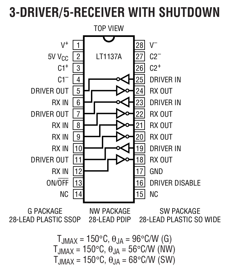 LT1130A Package Drawing