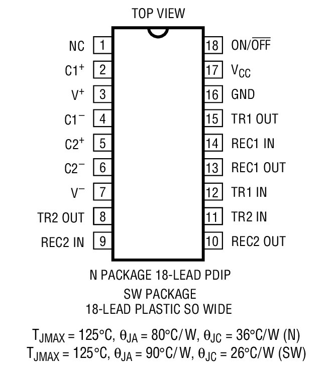 LT1280A Package Drawing