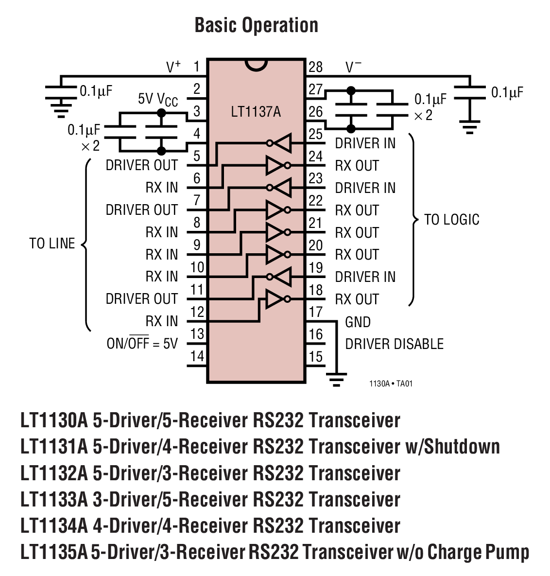 LT1130A Typical Application