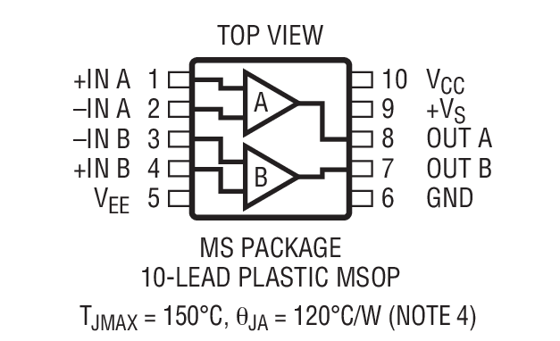 LT1715 Package Drawing