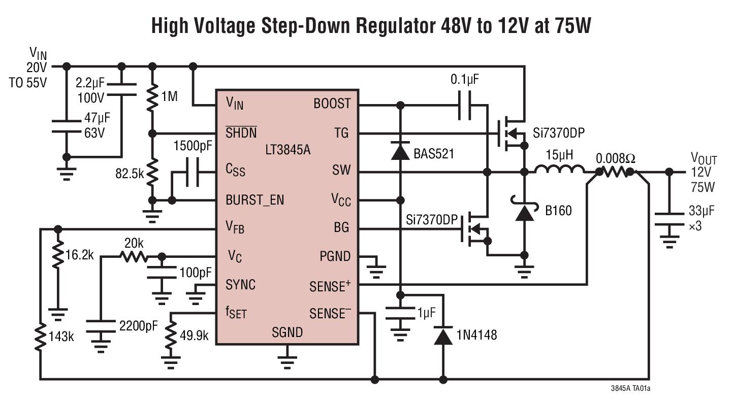 linear 凌力尔特 电源管理 开关稳压器 降压型稳压器 高输入电压降压